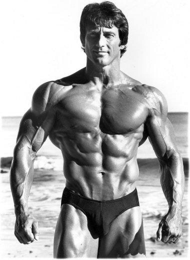 3-time Mr. Olympia, Frank Zane