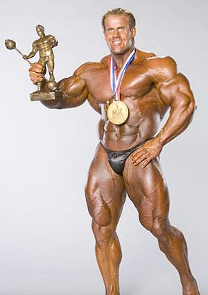 Multiple Mr. Olympia winner, Jay Cutler