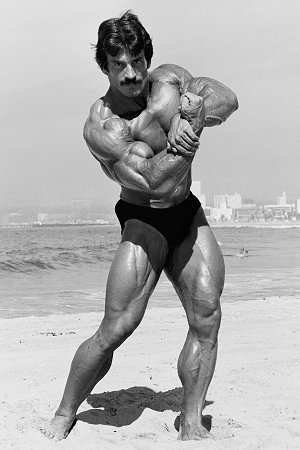 Heavy Duty proponent, Mike Mentzer