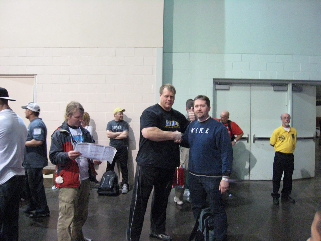 Phil Pfister at the 2010 Arnold