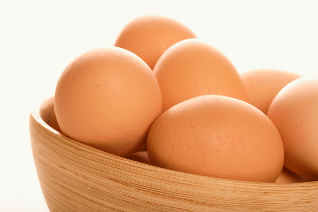 Eggs are the perfect protein source