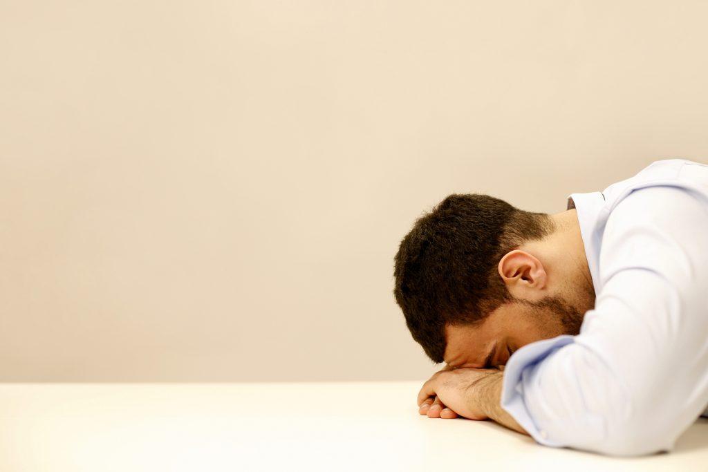 discouragement and sadness